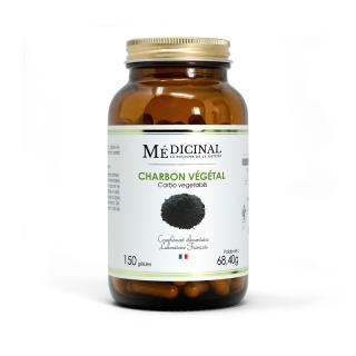 Médiprix Charbon végétal Bio - 150 gélules