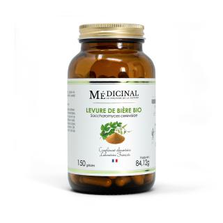 Médiprix Levure de bière Bio - 150 gélules
