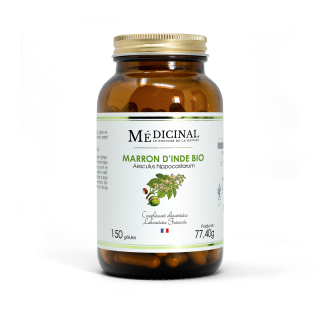 Médiprix Maron d'inde Bio - 150 gélules