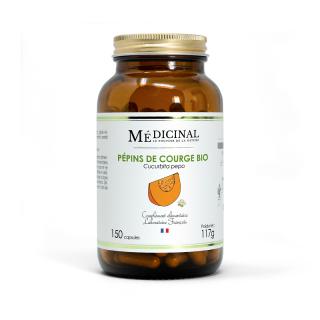 Médiprix Pépins de courge Bio - 150 gélules
