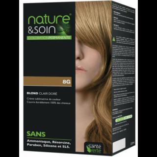 Natur&Soins coloration 8G Blond clair doré