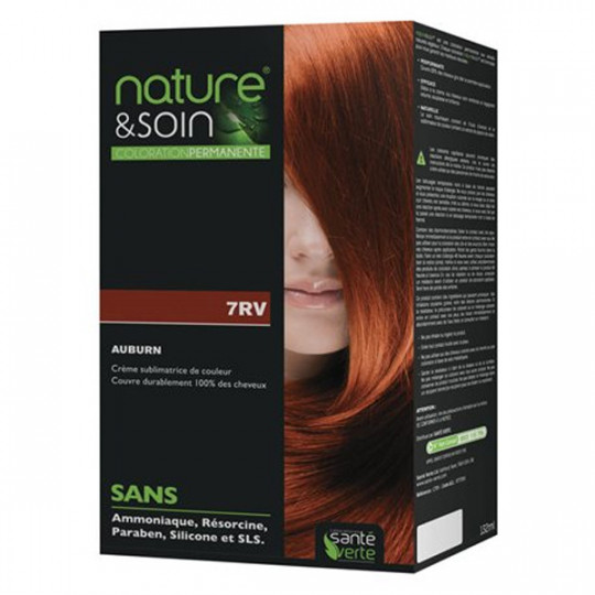 Natur&Soins coloration 7RV Auburn