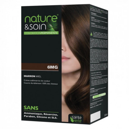 Natur&Soins coloration 6MG Marron miel