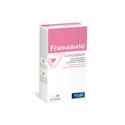 Pileje Feminabiane Conception - 30 comprimés + 30 capsules