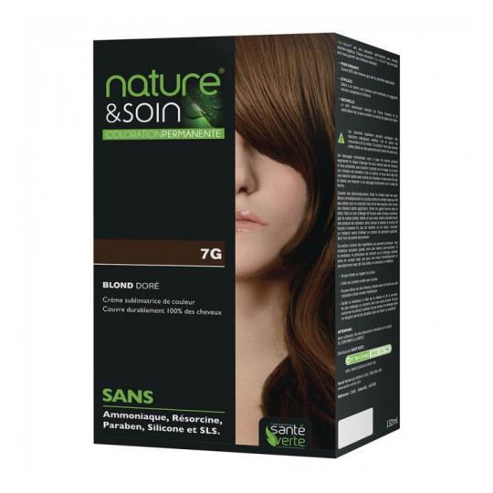 Natur&Soins coloration 7G Blond doré