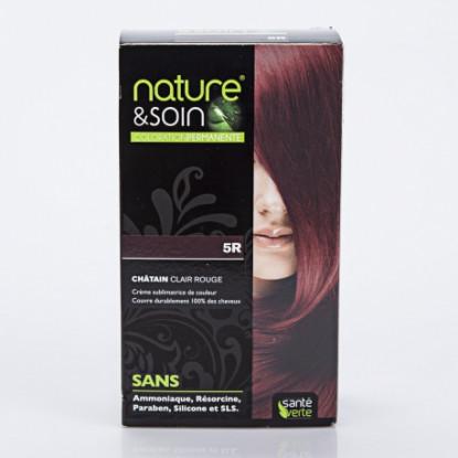 Natur&Soins coloration 5R Chatain clair rouge