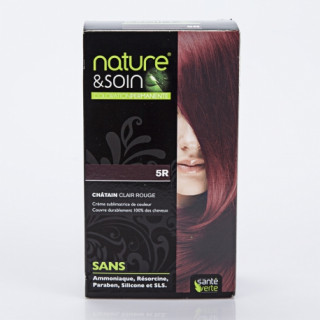 Natur&Soins coloration 5R Chatain clair rouge