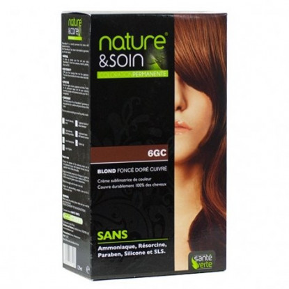 Natur&Soins coloration 6GC Blond foncé doré