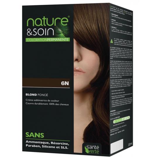 Natur&Soins coloration 6N Blond fonce