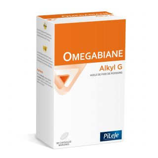 Pilèje Omegabiane Alkyl G 80 Capsules