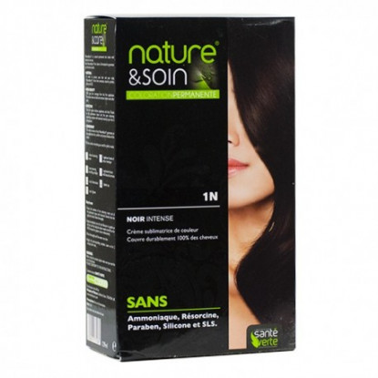 Natur&Soins coloration 1N Noir intense
