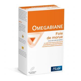 Pileje Omegabiane foie de morue - 80 gélules