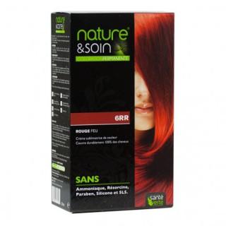 Natur&Soins coloration 6RR Rouge feu