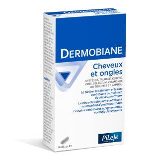 Pileje Dermobiane Cheveux & Ongles - 40 gélules
