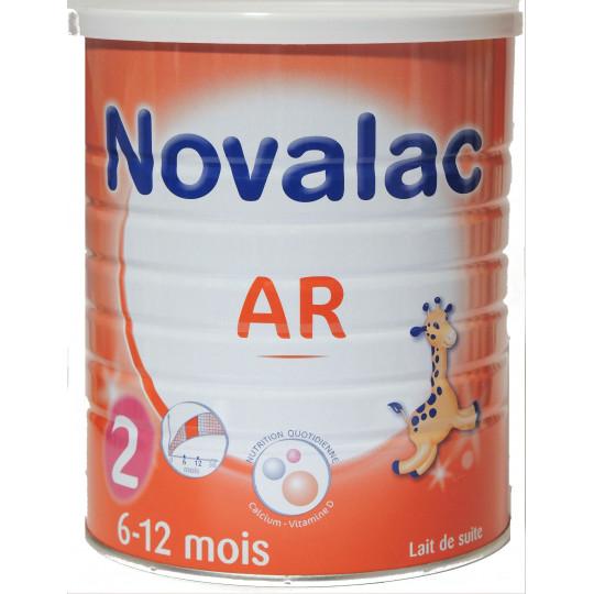 NOVALAC AR devient FE  2 AGE 800G