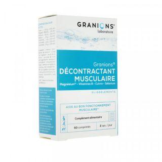 Granions décontractant musculaire 60c comprimés