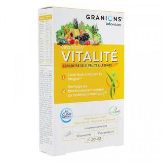 Granions vitality 30 tabs