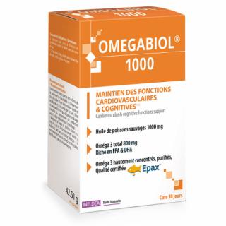 Ineldea Omégabiol 1000 - 60 capsules