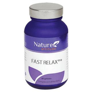 Nature Attitude Fast Relax - 30 gélules