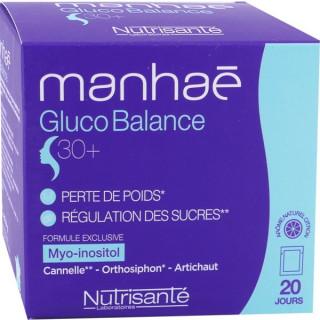 Nutrisanté Manhaé Gluco Balance 30+ - 20 sachets