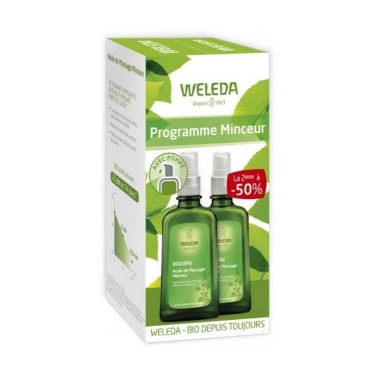 Huile de massage Minceur Weleda 2x100 ml