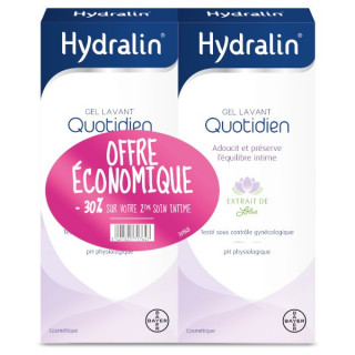 Hydralin Quotidien Savon Liquide 400ml Duo