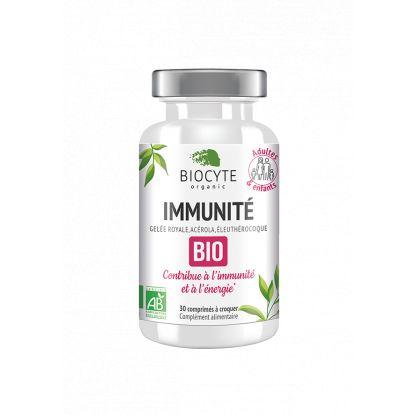 Biocyte Immunité Bio - 30 comprimés à croquer