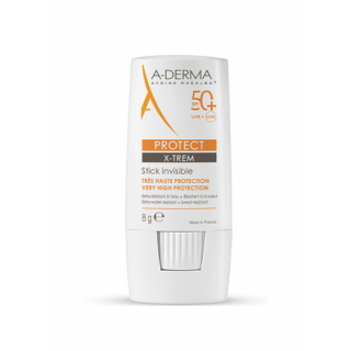 A-Derma Protect X-Trem Stick invisible SPF 50+ - 8g
