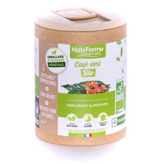 Nat&Form Ecoresponsable Café Vert Bio - 200 gélules