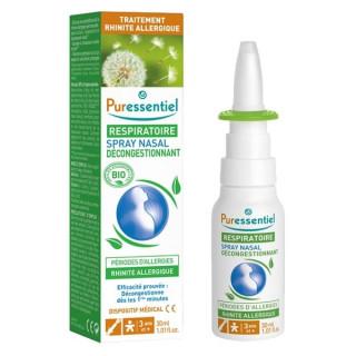 Puressentiel Spray nasal décongestionnant allergies Bio - 30ml