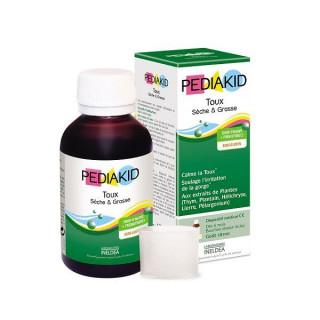 Pediakid Sirop toux sèche & grasse - 125ml