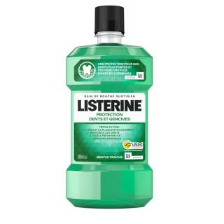 Listerine Protection Bain de bouche dents et gencives - 500ml