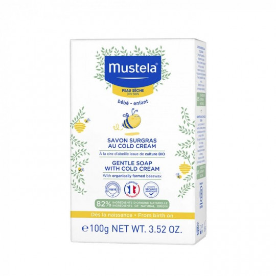Mustela Savon surgras cold cream - 150g