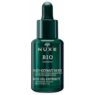 Nuxe Bio Huile nuit fondamentale nutri-régénérante - 30ml