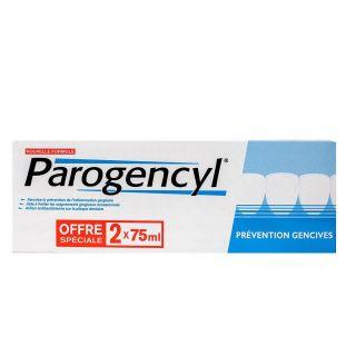 Parogencyl Dentifrice Prevention Gencives 2x75ml