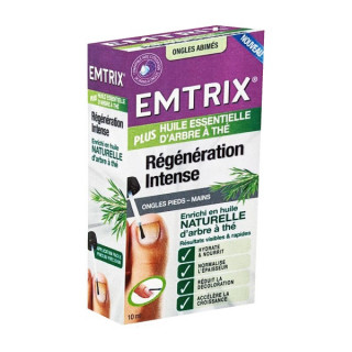 Emtrix Traitement régénérant intense ongles abimés - 10ml