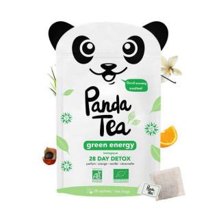 Panda Tea Thé Green Energy - 28 sachets