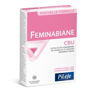 Pileje Feminabiane CBU - 30 comprimés bicouches