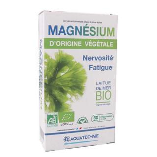 Biotechnie Magnésium d'origine végétale laitue de mer Bio - 30 gélules