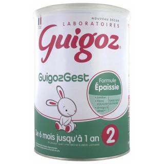 Guigoz Gest Formule épaissie lait 2ème âge - 800g