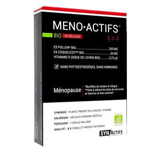 Synactifs MenoActifs Bio - 30 gélules