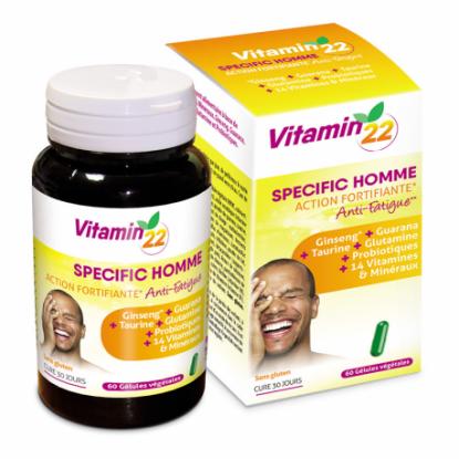 Ineldea Vitamin'22 Specific Homme - 60 gélules