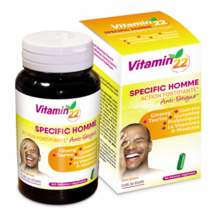 Ineldea Vitamin'22 Specific Homme - 60 gélules