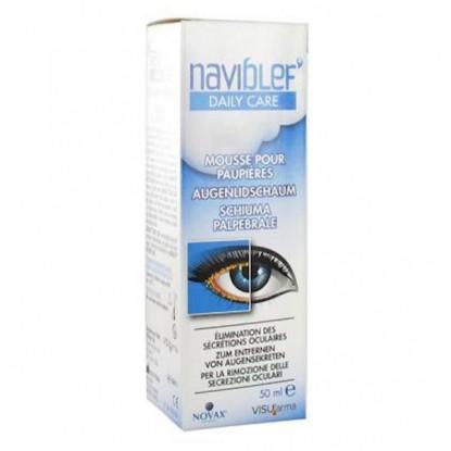 Naviblef dailycare Mousse pour paupieres 50ml