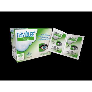 Visu Farma Naviblef Wipes Lingettes pour paupières - 20 unités