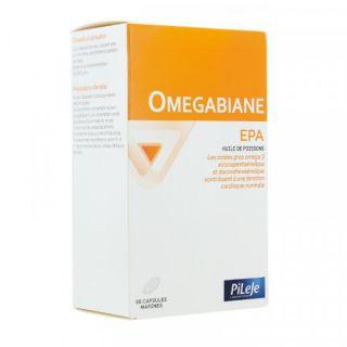 Pileje Omegabiane EPA - 80 capsules marines