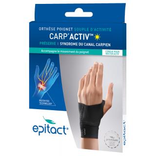 Epitact Carp'Activ Orthèse poignet souple d'activité droite - Taille M