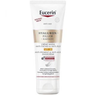 Eucerin Hyaluron-Filler+ Elasticity Crème mains anti tâches & anti-âge SPF30 - 75ml