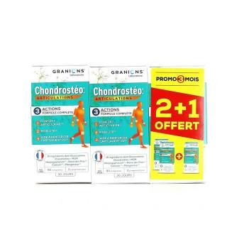 Granions Chondrostéo+ articulations - 3 x 90 comprimés