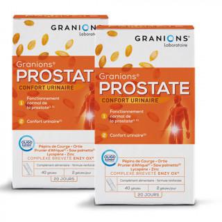 Granions Prostate - 2 x 40 gélules